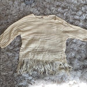 Chelsea & Violet. Crochet sweater